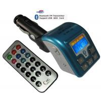 China Blue tooth Car MP3 FM Transmitter on sale