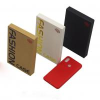 Buy cheap Embossed Printing Cell Phone Accessories Packaging , Mobile Cover Packaging Box product