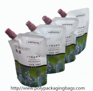 印刷される多彩シャンプー/洗濯のための口が付いている袋を立てます
