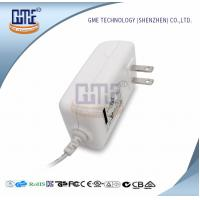 Buy cheap White 2PIN AC DC Power Adapter , Wall Mount Power Adapter For Home Appliances product