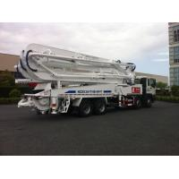 Buy cheap 47m Concrete Pump Trucks 8x4 / Cement Pumping Equipment With Cooling system product
