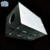 Buy cheap BS4568 Steel GI Electrical Boxes And Covers For Metal Outlet Devices product