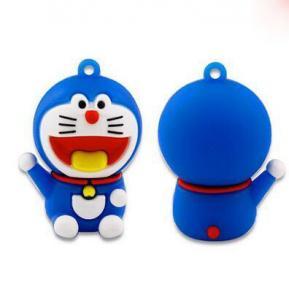 Vara feita sob encomenda da memória de USB 2,0 128MB USB, movimentação do flash de Doraemon USB