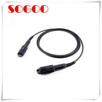 China Outdoor Tactical Armoured Fibre Optic Cable CPRI FC / SC FTTA Waterproof on sale