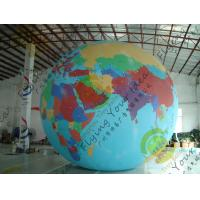 Buy cheap Durable Huge Earth Balloons Globe , Inflatable Helium Filled Balloons product