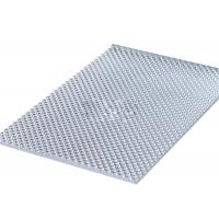 Buy cheap Clear UV Resistant Polycarbonate Sheets, Sun PC Embossed Sheet Interior Decoration product