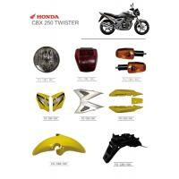 Buy cheap Solid Material Motorcycle Spare Parts Plastic Accessories HONDA CBX250 Twister product