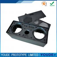 China Small Batch Vacuum Casting Plastic Parts  Black Color Rapid Prototyping on sale