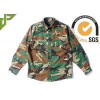 Buy cheap Woodland RipstopTactical Combat Uniform For Spring 65% Polyester 35% Cotton product