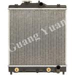 Buy cheap 19010-P03-901/902  Honda Aluminum Radiator , Honda Civic Radiator Replacement19010-P28-G51/G52 product