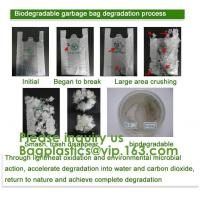 Buy cheap 100% Biodegradable and Compostable Plastic Garbage Bag dog poop Bag Wholesale Custom biodegradable Pet Waster Bags dog p product