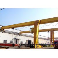 Buy cheap Traveling Goliath Semi Gantry Crane Electric Light Duty For Steel Stock Yard / from wholesalers