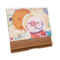 China Tourist Souvenirs Gift Wooden Perpetual Calendar For Clock , Photo Frame on sale