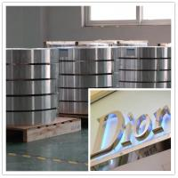 Buy cheap Custom Aluminum Sheet Hot Rolling 1100 1060 1050 Aluminum Strips 8006 8011 8079 product