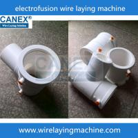 Buy cheap PPR ISO 15874 Electro fusion fittings wire laying machine product
