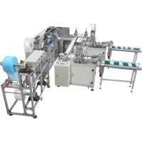 China 1.5kw Semi Auto Face Mask Machine With Ear Loop Welding Conveyor System on sale