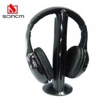China FM Wireless Headphone with Mic (MH-2001) on sale