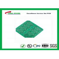 Buy cheap 1 Layer CEM 1 PCB 1.6mm 1OZ Green Solder Mask E-TEST with Fiducial Marks product