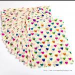 Buy cheap Gift Packaging Die Cut Handle Plastic Bags Flesiloop Handle Sealing Gravure Printing product