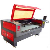 High Precision Leather Laser Cutting Machine , Auto CNC Leather Cutter For Samples