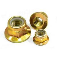 China Flange nylon lock nut on sale