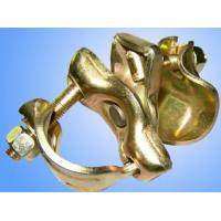Buy cheap EN74  Pressed Metal Parts scaffolding fixed clamp and swivel  OEM service product