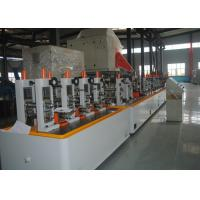 Buy cheap Metal Steel Round / Square Pipe Making Machine High speed Max 120m/min product