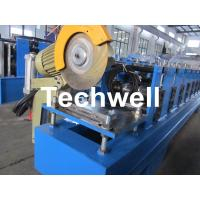 Buy cheap 13 Forming Stations Roller Shutter Door Cold Roll Forming Machine With Manual Decoiler product