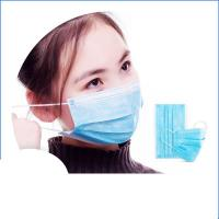 Buy cheap Anti Virus Safety Breathing Mask / Disposable Face Mask With Elastic Ear Loop product