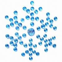 Buy cheap Cute Snowflake-shaped Crystal Rhinestone Sticker, Self-adhesive Gems, Can Stick from wholesalers
