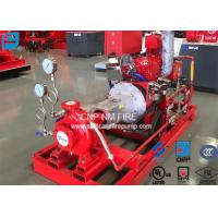 Buy cheap 200GPM@155PSI End Suction Centrifugal Pump For Firefighting Red Color product
