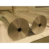 Buy cheap 8011 Household Jumbo Roll Food Container Industrial Aluminium Foil Sheet Customized Size product