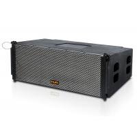 """Buy cheap Dual 12"""" 8ohm black  Line Array  Speakers Active For  stage / pub product"""