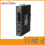 Buy cheap Industrial Unmanaged EIB05-3E-2F 5 Port Network Switch 2 Megabit FX Poe Ethernet Switch product