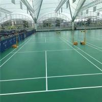 Buy cheap Volleyball Court Sports Flooring indoor PVC vinyl volleyball court sports flooring badminton court pvc vinyl flooring product
