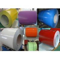 China Galvanized Steel Sheet In Coil , Cold Rolled Steel Sheet Thunderstorm Resistance wholesale