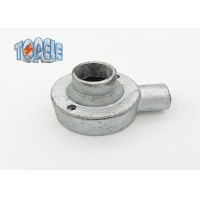 Buy cheap Hot Dip Galvanised BS4568 Conduit Malleable Iron Boxes Female Dome Cover product