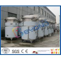 Buy cheap SUS304 / SUS316L Stainless Steel Extraction Tank With Dimple Pad Jacket from wholesalers