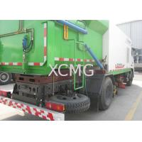 8tons Multifunction Truck Mounted Sweeper , Special Purpose Vehicles Sweeping Trucks