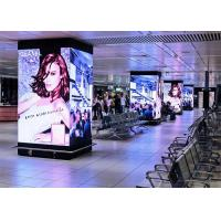 Buy cheap Fixed Install Indoor Led Advertising Screen Cabinet 480*480mm Video Wall HD Pixels product