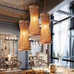 Buy cheap Modern jute pendant lights For Living room Bedroom Restaurant Lighting Fixtures (WH-WP-16) product