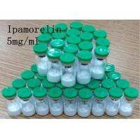 Buy cheap White Powder 99% Injectable Ipamorelin 5mg/vial for Body Building CAS 170851-70-4 product