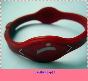 power silicone wristband