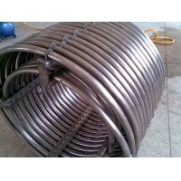 Buy cheap 0.5mm - 20.0mm Stainless Steel Coil Pipe , Heat Exchanger Tubes Grade 304 304L F321 310S product