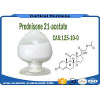Buy cheap White powder Pharmaceutical Raw Materials Prednisone 21-acetate CAS 125-10-0 product