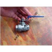 China ISO 5211Direct Mounting pad 1pc 2pc 3pc stainless steel 304 ball valve handles /4inch 1/2 wholesale