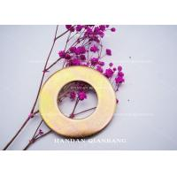 Buy cheap Iron Material Flat Washer With Yellow Zinc Color Hardware Fasteners M2, M6, M8 Size from wholesalers