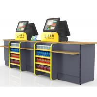 Buy cheap Durable Cash Register Counter Stand , Retail Sales Counter Furniture product