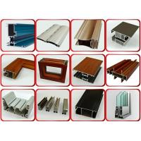 Buy cheap Furniture Decoration Powder Coating Aluminium Profiles AA6063 T5 product
