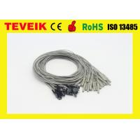 Buy cheap Medical eeg cup cable eeg electrodes, DIN1.5 eeg cable with silver chloride plated silver product